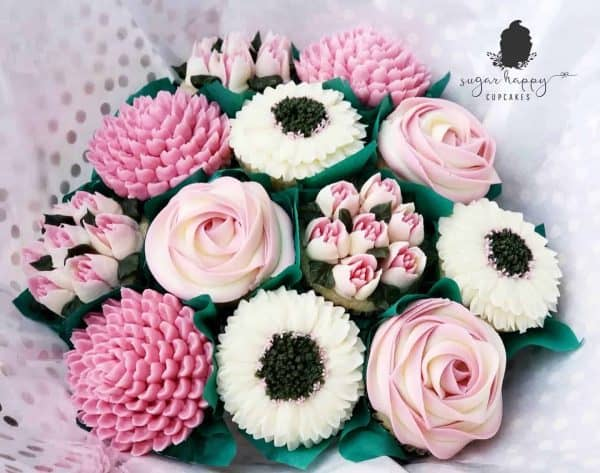 Sugar Happy Cupcakes Wedding Cupcakes Bouquet