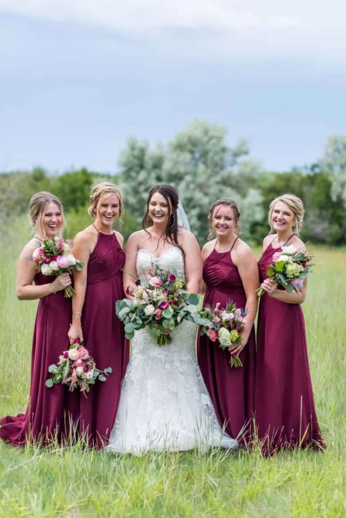 Bridesmaids and Kylee