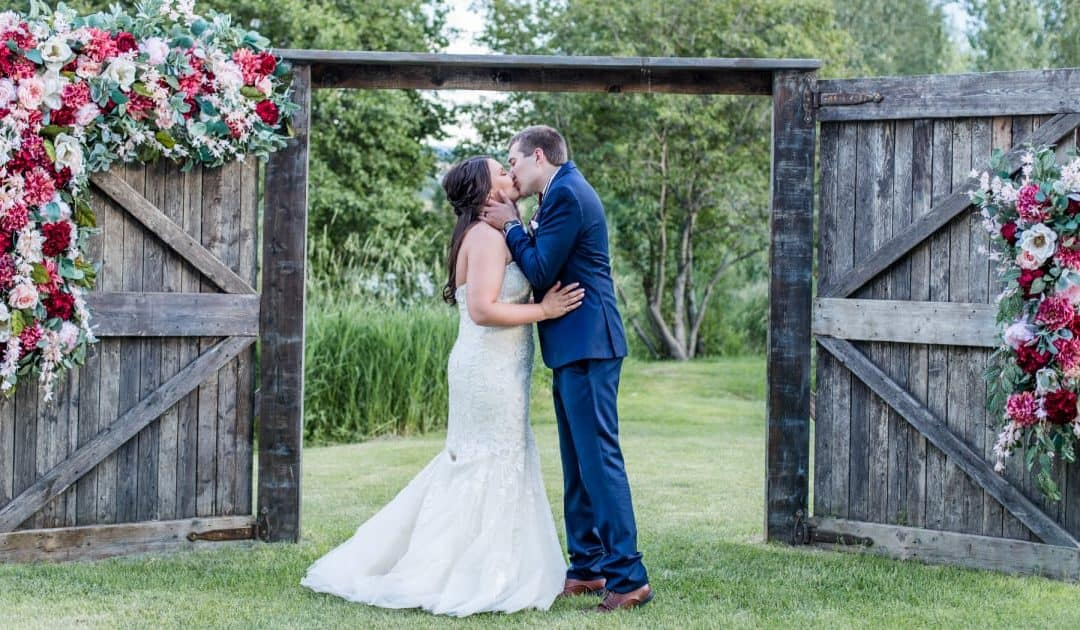 Kylee + Ryan: Rustic Ranch Wedding in Helena