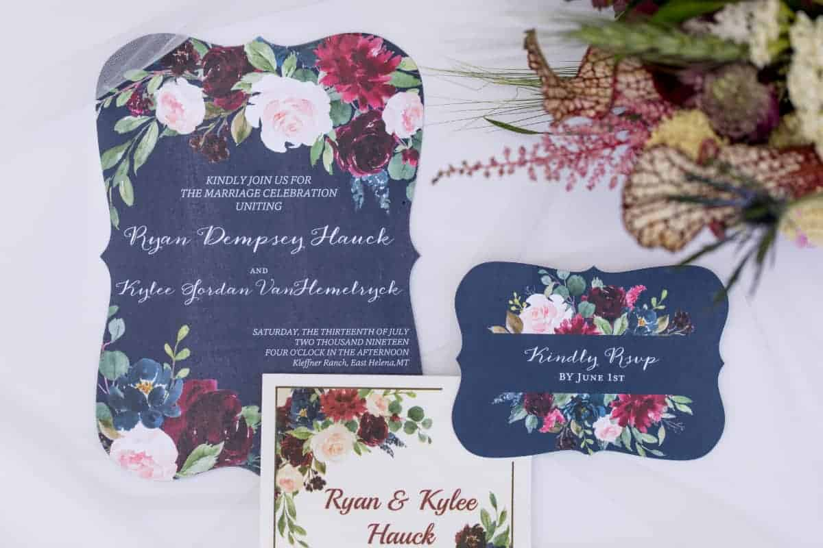 Rustic Ranch Wedding Invitations