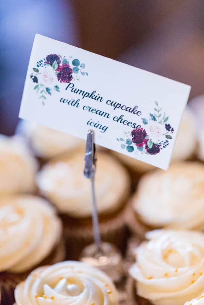 Pumpkin-Cream-Cheese-Cupcakes-Wedding