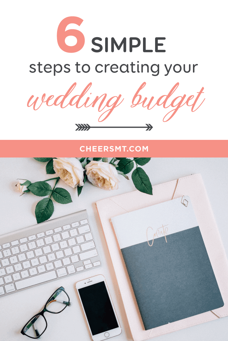 6 Simple Steps to Create Your Wedding Budget Pin