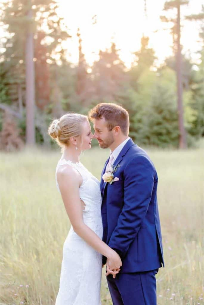Amy and Josh Grouse Mountain Lodge Wedding in Whitefish