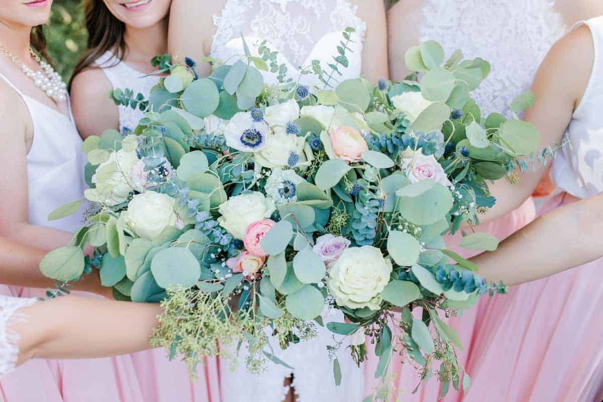 Bride and Bridesmaid Florals