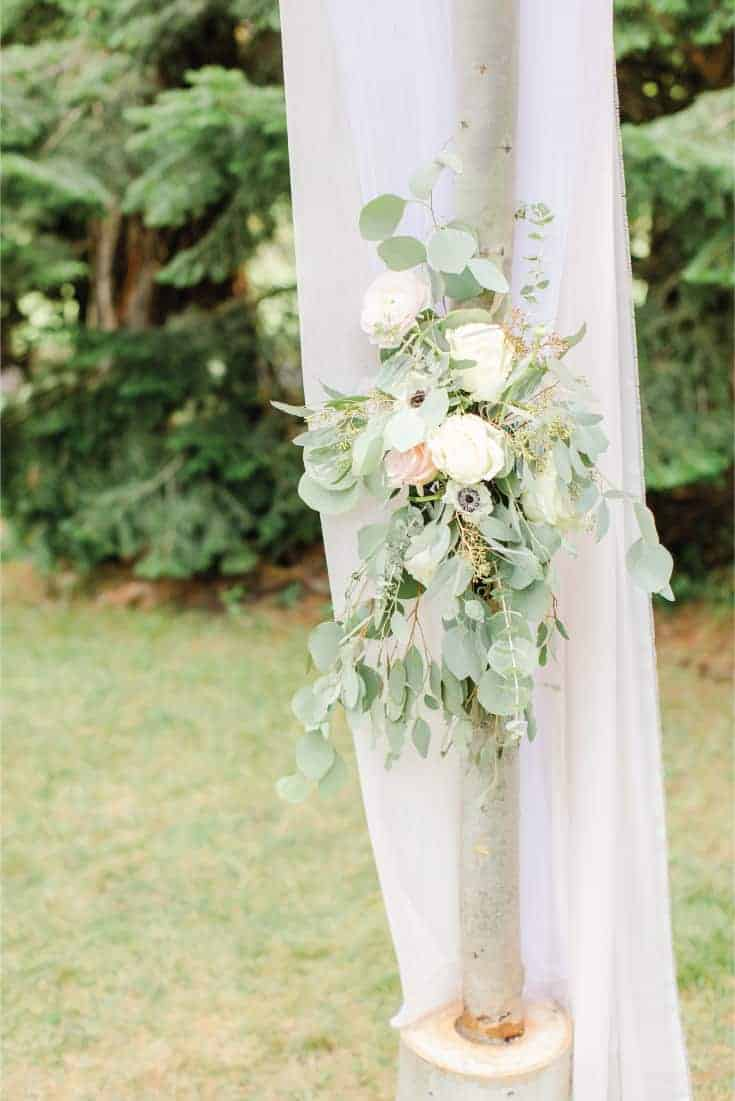 Wedding Arch Florals