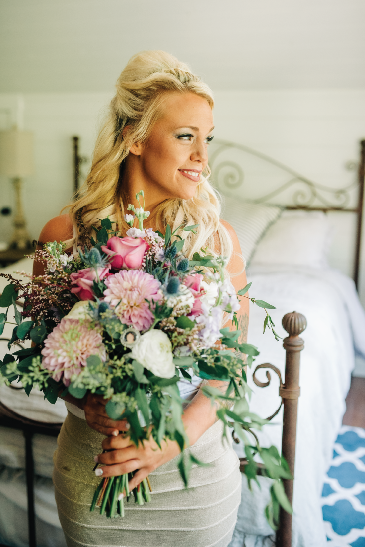 Bride-Getting-Ready-with-Flowers