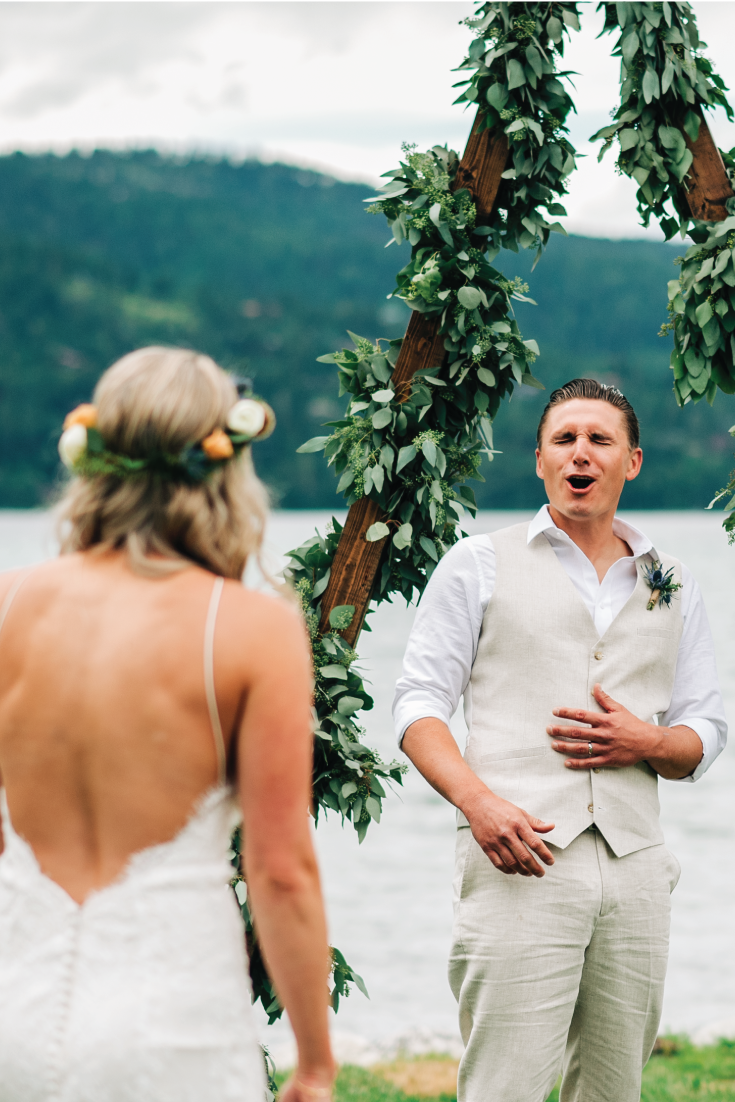 Brittany-and-Zach-Whitefish-Lake-Wedding-First-Look-Surprise-Reveal