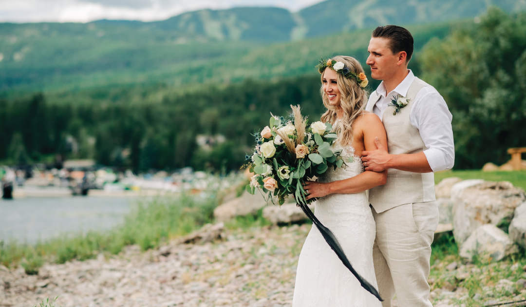 Brittany + Zach: Joyous Whitefish Lake Wedding